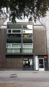 Unser bisheriges Büro liegt im zweiten Obergeschoss der Kirchherrngasse 14.