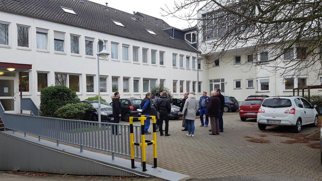 Kick-Off-Meeting in Willich-Schiefbahn